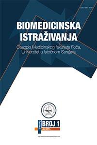 View Vol. 11 No. 1 (2020): Biomedicinska istraživanja