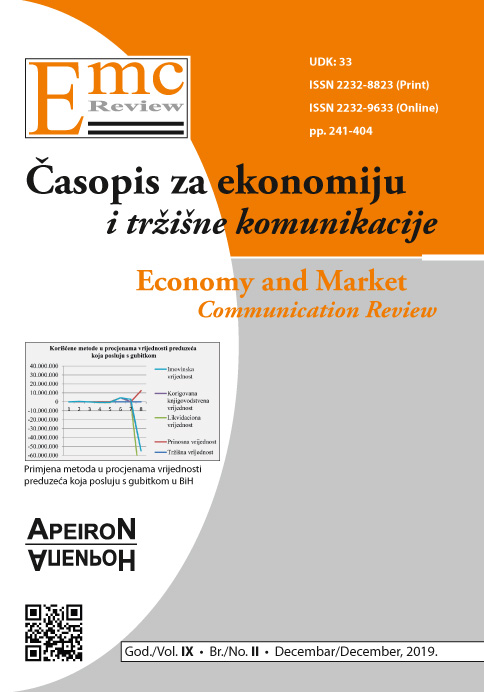 View Vol. 18 No. 2 (2019): EMC Review - ECONOMY AND MARKET