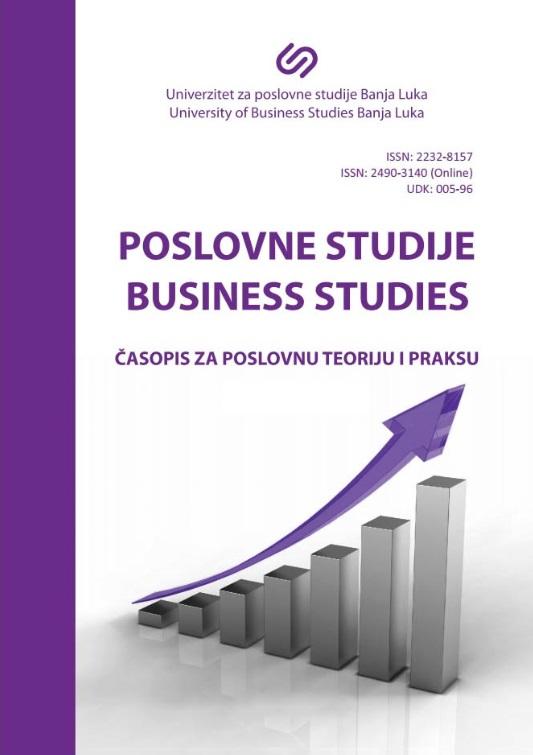 View Vol. 9 No. 17-18 (2017): Časopis za poslovnu teoriju i praksu