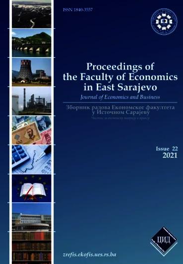View Vol. 10 No. 22 (2021): Зборник радова Економског факултета У Источном Сарајеву