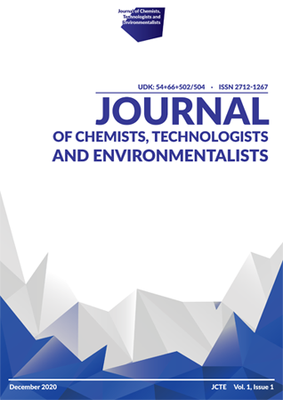 View Vol. 1 No. 1 (2020): Journal of Chemists, Technologists and Environmentalists