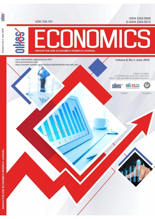 View Vol. 6 No. 1 (2018): ECONOMICS