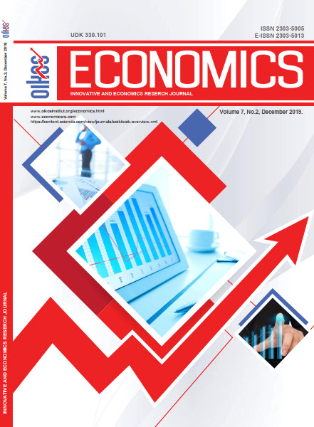 View Vol. 7 No. 2 (2019): ECONOMICS