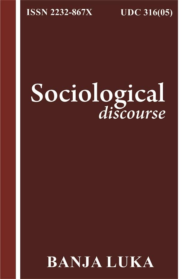View Vol. 4 No. 8 (2014): Sociološki diskurs
