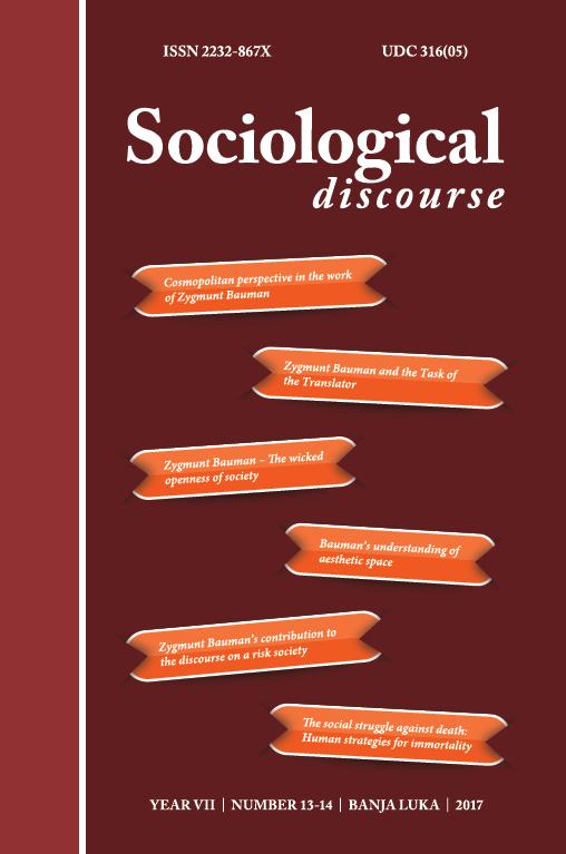 View Vol. 7 No. 13-14 (2017): Sociološki diskurs