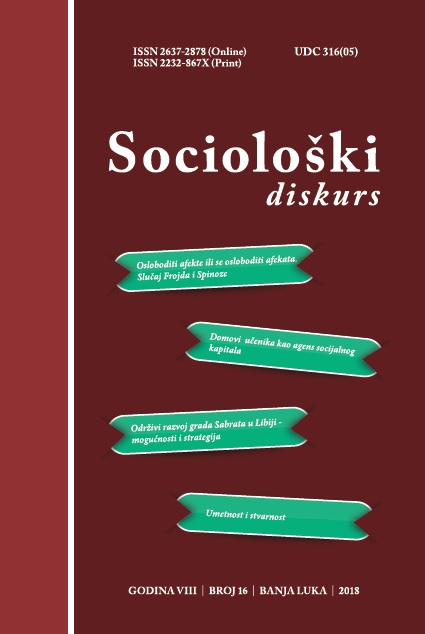 View Vol. 9 No. 16 (2019): Sociološki diskurs