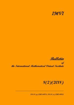 View Vol. 8 No. 2 (2018): BULLETIN OF IMVI