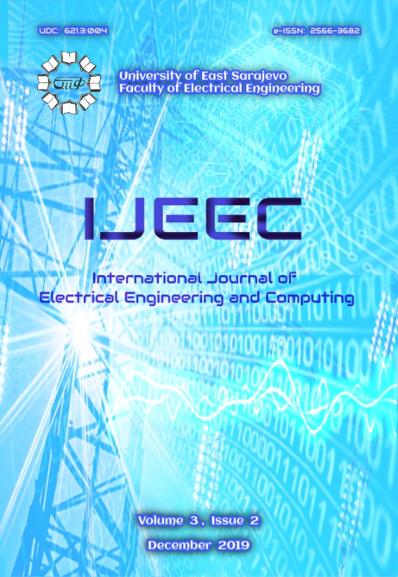 View Vol. 3 No. 2 (2019): International Journal of Electrical Engineering and Computing