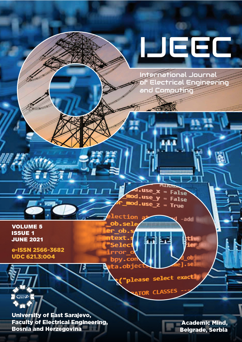 View Vol. 5 No. 1 (2021): International Journal of Electrical Engineering and Computing