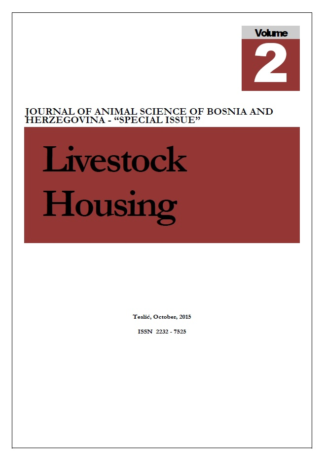 View Vol. 1 No. 2 (2015): JOURNAL OF ANIMAL SCIENCE OF BIH