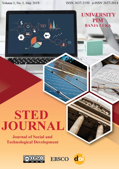 View Vol. 1 No. 1 (2019): STED JOURNAL