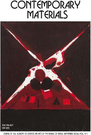 View Vol. 5 No. 1 (2014): Contemporary Materials V-1
