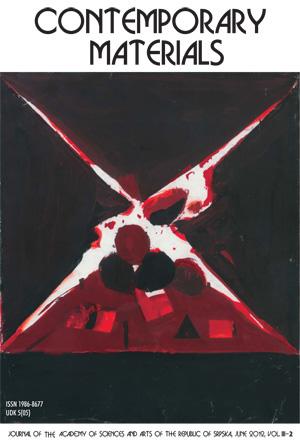 View Vol. 3 No. 2 (2012): Contemporary Materials III-2